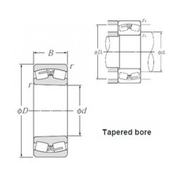 100 mm x 215 mm x 47 mm  NTN 21320K Spherical Roller Bearings