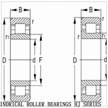 HJ-607632 CYLINDRICAL ROLLER BEARINGS HJ SERIES