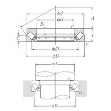 NTN 29334 Thrust Bearings