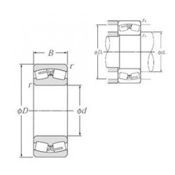 560 mm x 820 mm x 258 mm  NTN 240/560B Spherical Roller Bearings