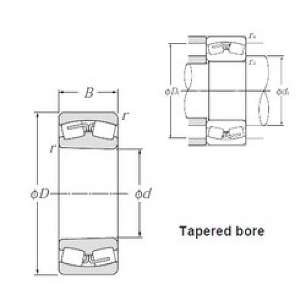 200 mm x 340 mm x 112 mm  NTN 23140BK Spherical Roller Bearings #3 image